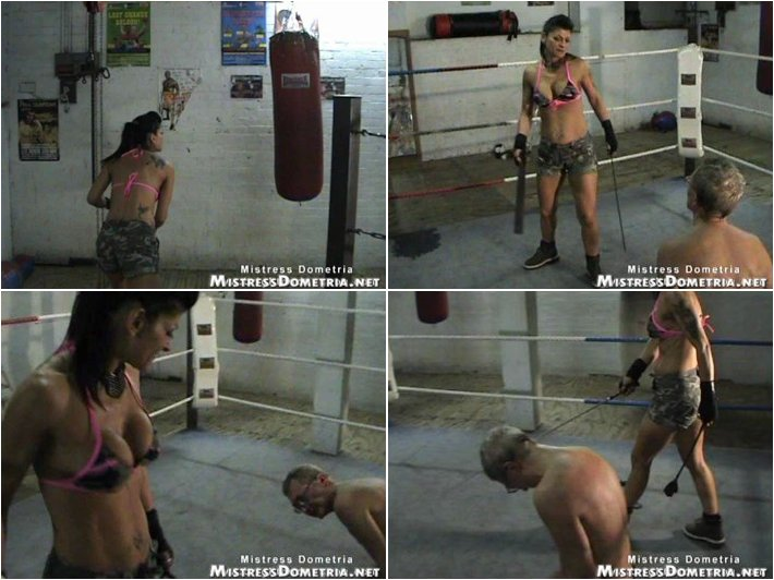 Femdom BDSM - domination at the gym part 01