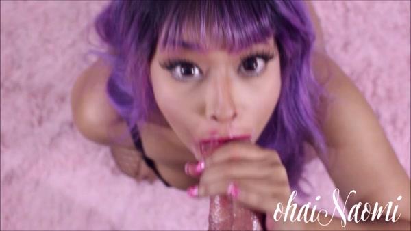 Xfantasy Ohainaomi Pink Lipstick Facial Down 4porn 1