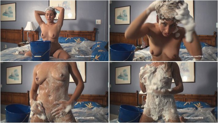 Amateur - renna ryann lathering hairwashing fetish