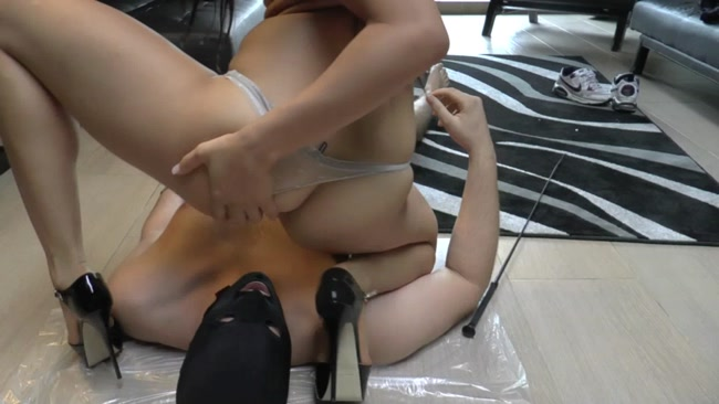 This slave really needed a lesson.