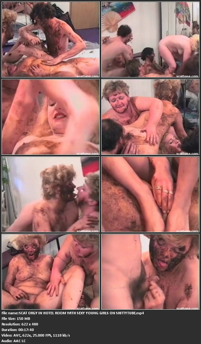 File name:SCAT ORGY IN HOTEL ROOM WITH SEXY YOUNG GIRLS ON SHITTYTUBE.mp4
