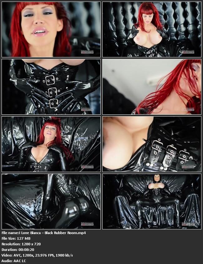 File name:I Love Bianca - Black Rubber Room.mp4