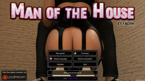 Man of the house v0.7.1b extra Patreon Faerin