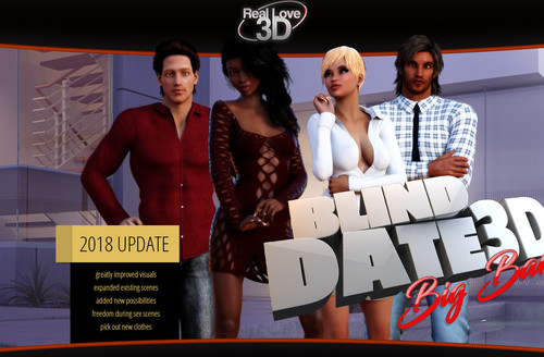 Porn Game: Blind Date 3D BIG BANG Completed by Lession of Passion