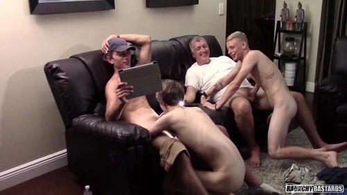 RaunchyBastards – Training The J.V. Team (Alex Arbor, Clay, Jonas Paige & Will Hahn)
