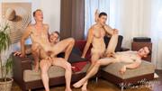 WilliamHiggins – Wank Party #98 Part 1 (Kristof Trnka, Petr Jarena, Petr Ujen & Tomas Salek) Barebac…