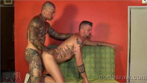 DudesRaw – Christian Matthews & Damian Dragons Tough Flip Fuck Bareback