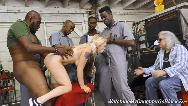 WatchingMyDaughterGoBlack – Casey Ballerini (GangBang Big Black Cock)