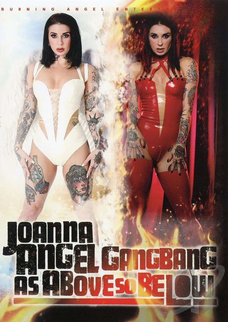 Joanna Angel Gangbang As Above So Below XXX DVDRip x264-CiCXXX
