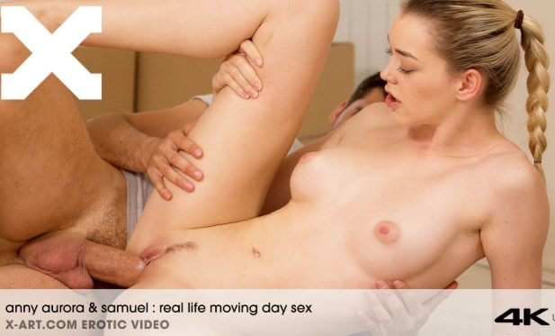 X-Art – Anny Aurora (Real Life Moving Day Sex)