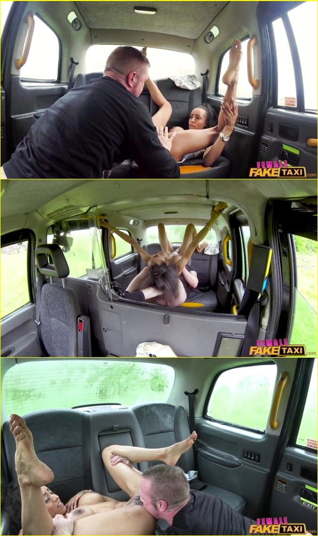 Ebony Girl Masturbate Car