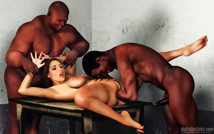 Lesbian women in bondage