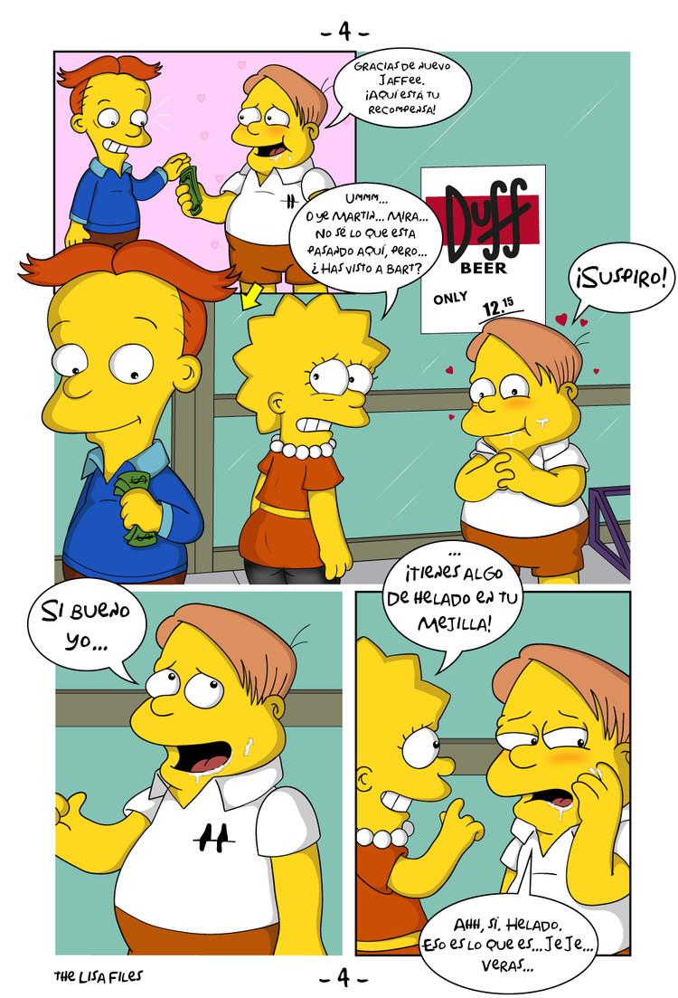 ▷ Simpsons The Lisa Files (Español) XXX - comic porno gratis