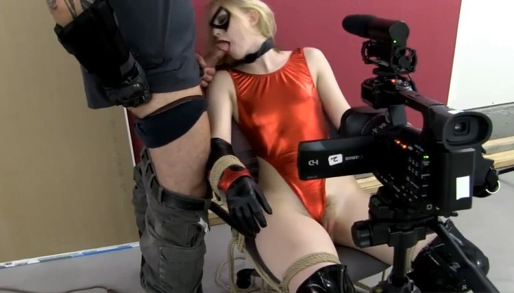 Superheroine tied and r@ped before cam