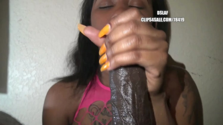 Ebony Co Worker Sucking Dick