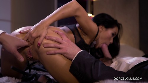 Luxure Megan Rain Gets Banged By 2 Men For Her First Dorcel Movie