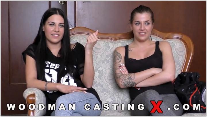 [WoodmanCastingX] Dellai Twins (Eveline Dellai, Silvia Dellai) (* Updated * / Casting X 155 / 06.03.16) [Group, DP+O, DP, Anal, De…