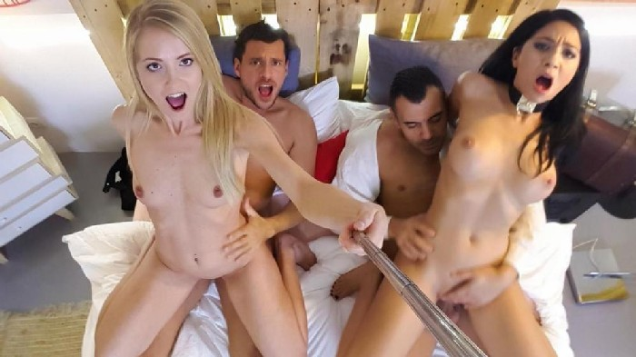 [LosConsoladores / PornDoePremium] Julia De Lucia, Sicilia – Naughty group sex action with horny Spanish swingers and Julia De Luc…