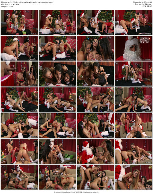 Horny Christmass With Lucky Santa And Sweeties Alanah Rae Jessica Jaymes Gf Revenge 1