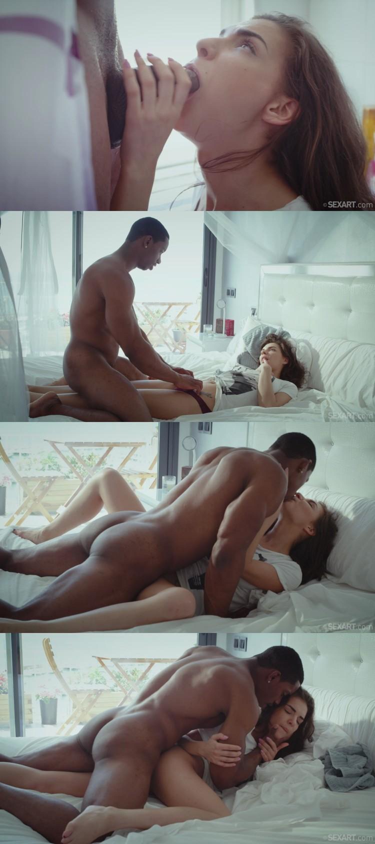 Nude girl feeling gif