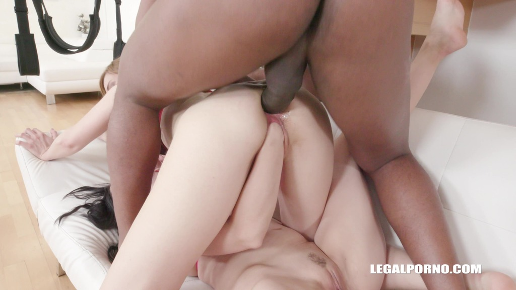 LegalPorno - Interracial Vision - Luca Bella & Ally Style - pussy is happy with fist & cock Part 1 IV148