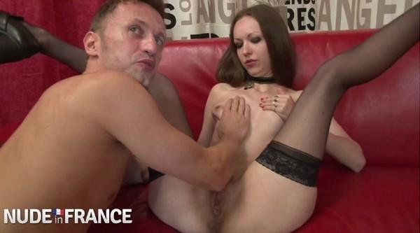 Arella Empusa - Tiny brunette slut deep throats cock - HD (2018/NudeInFrance.com/573 MB)