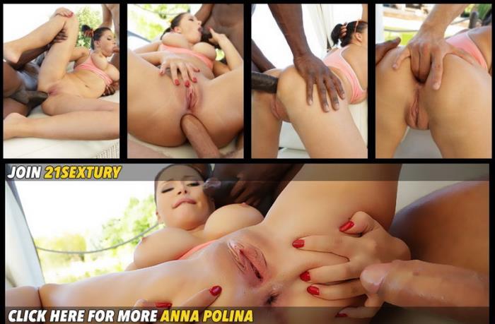 Anna Polina - Chocolate Vanilla Sandwich [HD/720p/952.53 Mb] 21Sextury