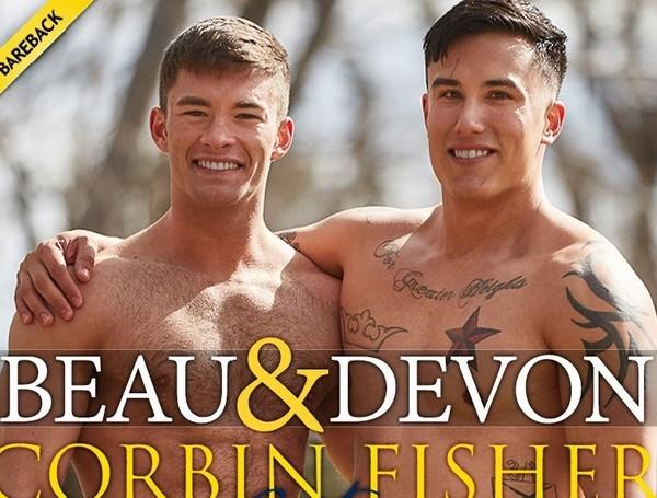 Beau and Devon Get Steamy (Beau, Devon) CorbinFisher [HD]