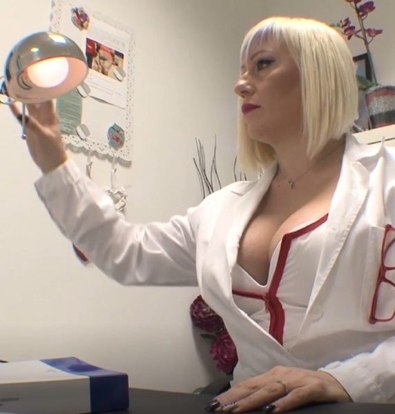 Christie Dom - Analyst of dick [HD] PinkoClub - (461 MB)