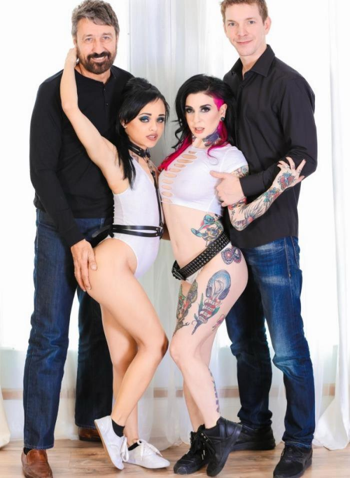 Joanna Angel, Holly Hendrix - Gothic Anal Whores [BurningAngel / HD 720p]