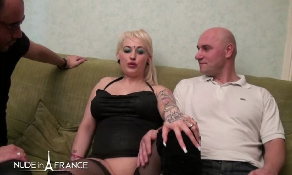 Bbw Malaurie, busty emo belgian slut, hard anal fucked in 3some (Malaurie) NudeInFrance [SD]