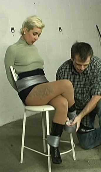 Cruel Gag Interrogation For Violet - Part 1