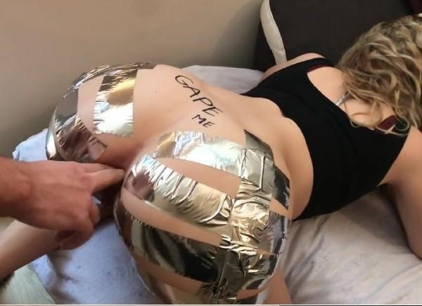 Adventurescouple - Sis begs me to GAPE her ASS duct tape [HD] PornHub - (191 MB)