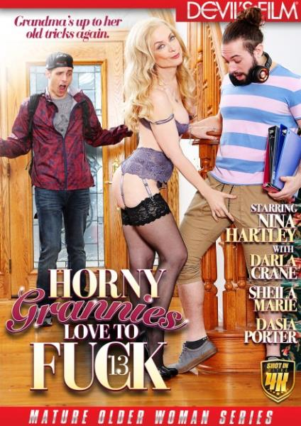 Horny Grannies Love To Fuck 13 (2018/WEBRip/Standard Quality SD)