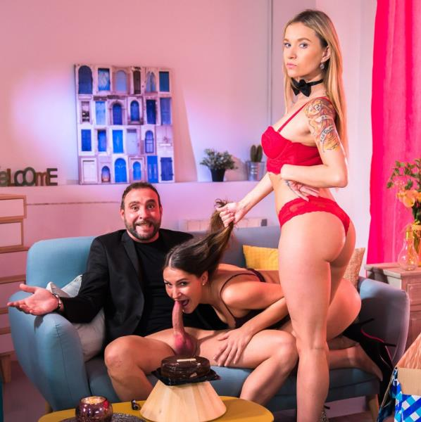 Ellen Betsy - Fantasy birthday fuck ends with cum in mouth 1080p