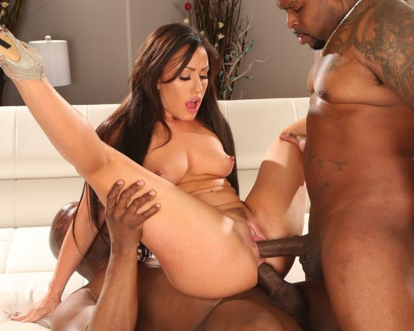 Jennifer White - Sexy Slut Jennifer White Takes Two Big Black Cocks AB009 [HD] LegalPorno - (1.25 GB)