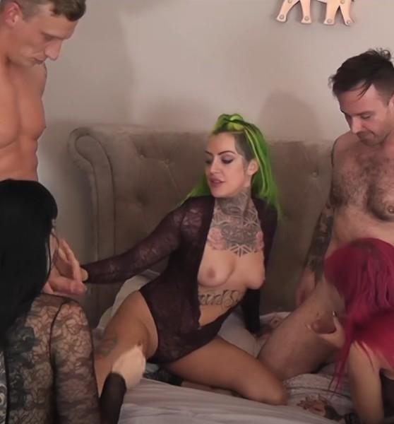 Alexa Vice, Phoenix, Sexy Cleo - Group Sex [Standard Quality SD] LukeHardyXXX - (272 MB)