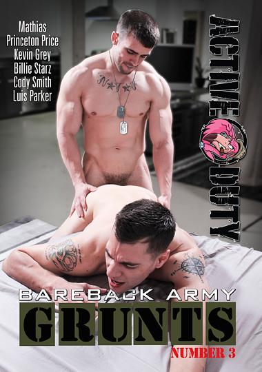 Bareback Army Grunts 3 (2017)
