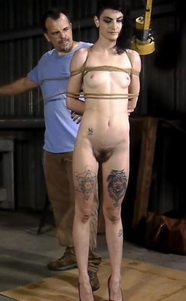 Lydia Blacks Box Hogtie - Part 1