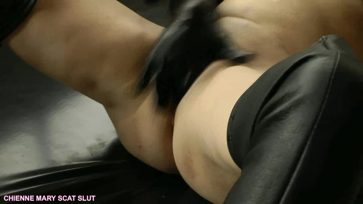 Boots and gloves scat masturbation with Chienne Mary French scat slut (2018 | FullHD 1080p | 2.31 GB)