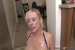 Neighbor Lady Sucks Dick