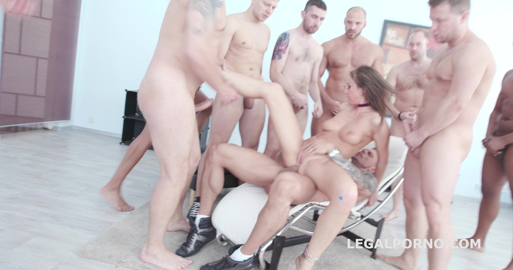LegalPorno - Giorgio Grandi - Happy B-day Tina Kay 10o1 DAP Gangbang with Balls Deep Anal / Squirting / Gapes / 11 Cumshots GIO655