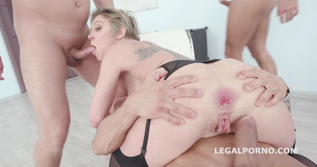 LegalPorno - Giorgio Grandi - 4on1 DAP with Dee Williams. Balls Deep Anal / DAP / Gapes / Swallow GIO635