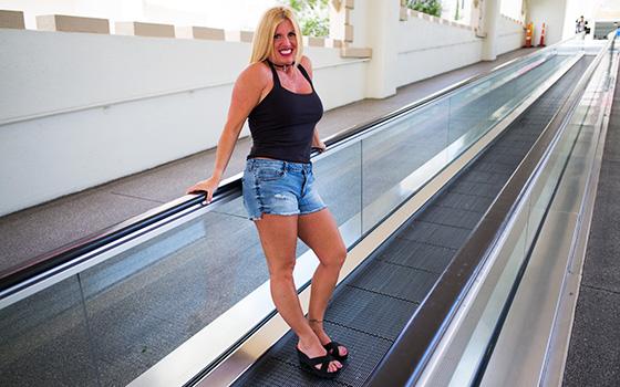Thick blonde horny swinger MILF (Karie) MomPov [SD]