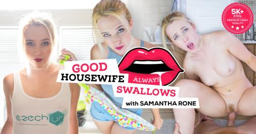 Samantha Rone - Good Housewife Always Swallows (2018/FullHD)