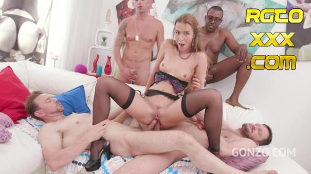 Alexis Crystal: Alexis Crystal amazing DAP & DP with four cocks SZ2027 [2018/HD]