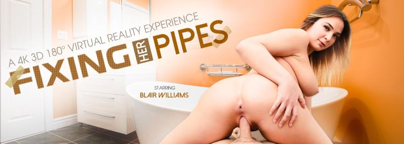 Blair Williams - Fixing Her Pipes (2018/FullHD)