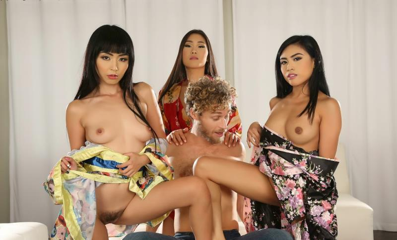 Marica Hase, Ember Snow, Katana - A Bachelor Party Orgy to Remember (2018/FullHD)