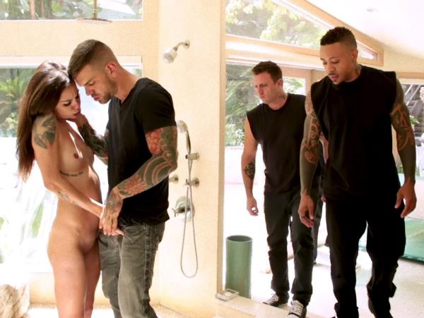 Kacie Castle ~ Anal Slut Kacie Castle Gang Fucked And Bound by Voracious Neighbors ~ BoundGangBangs/Kink ~ HD 720p