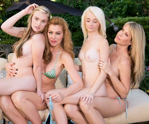 Cassidy Ryan, Desiree Dalton, Maddy Rose, Sasha Sean - Senior Slut Day (HD)